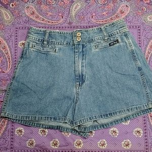 90's Vintage old navy high rise shorts